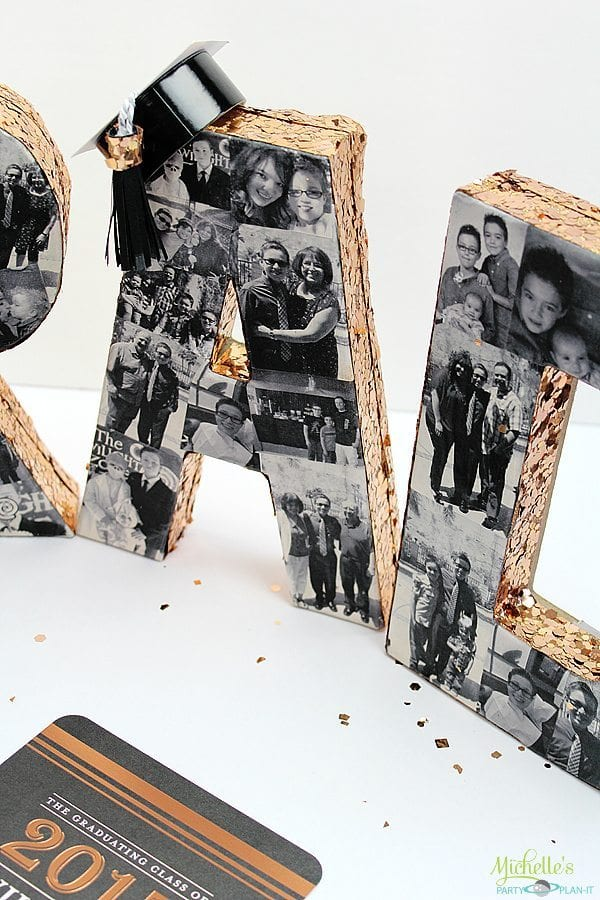 DIY Graduation Photo Collage