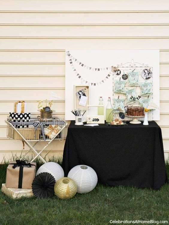 Shabby chic grad party ideas