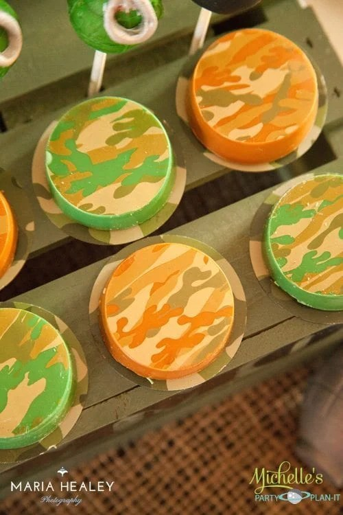 Army Party Oreos