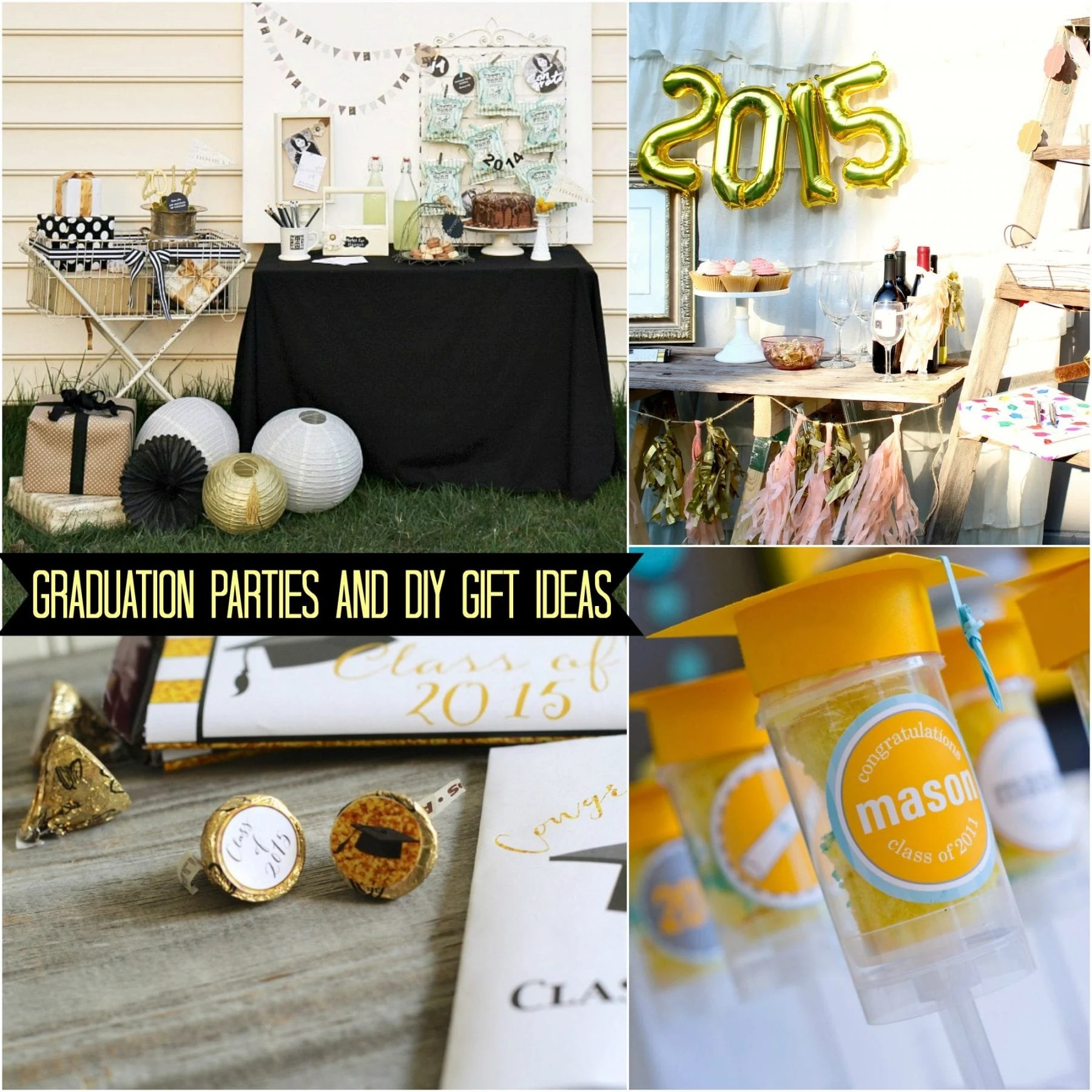 Graduation Party & Gift Ideas for Guys & Girls (Some Shabby Chic!)
