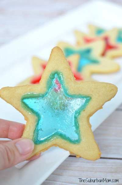 4th-of-July-Stained-Glass-Star-Cookies