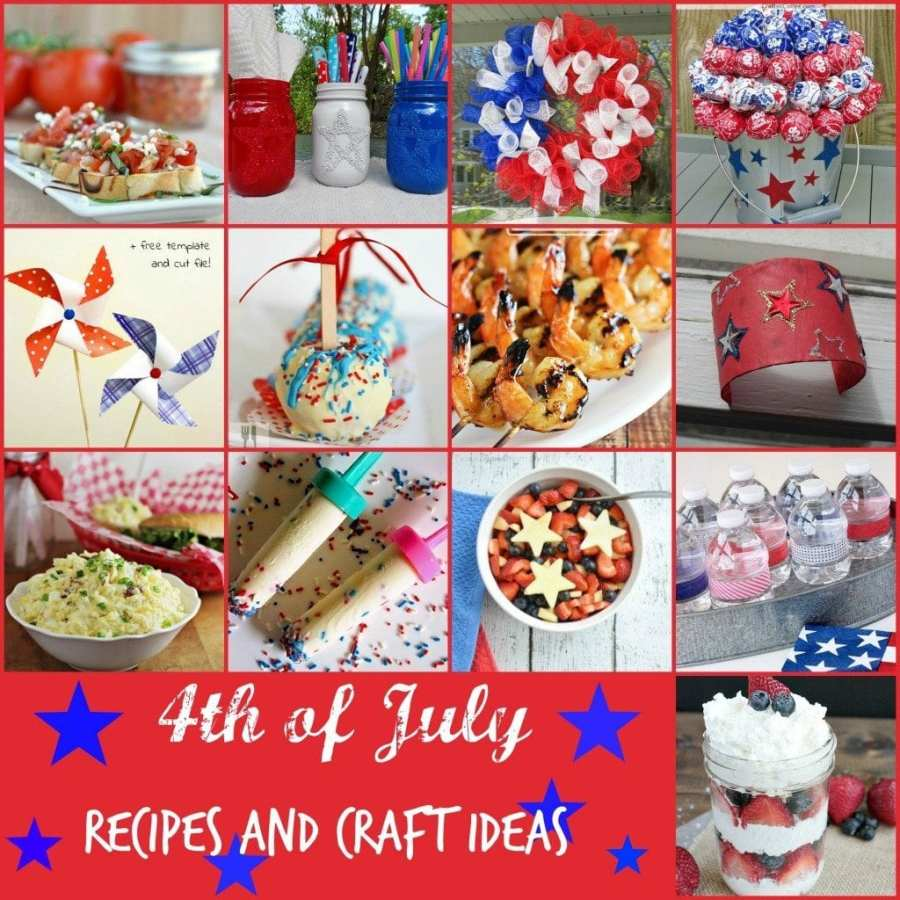 4th of July recipes and craft ideas
