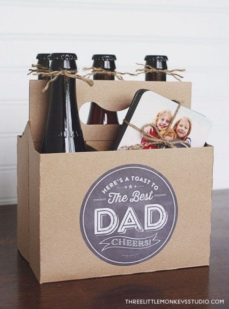 Father's Day Gift Idea Cheers Dad
