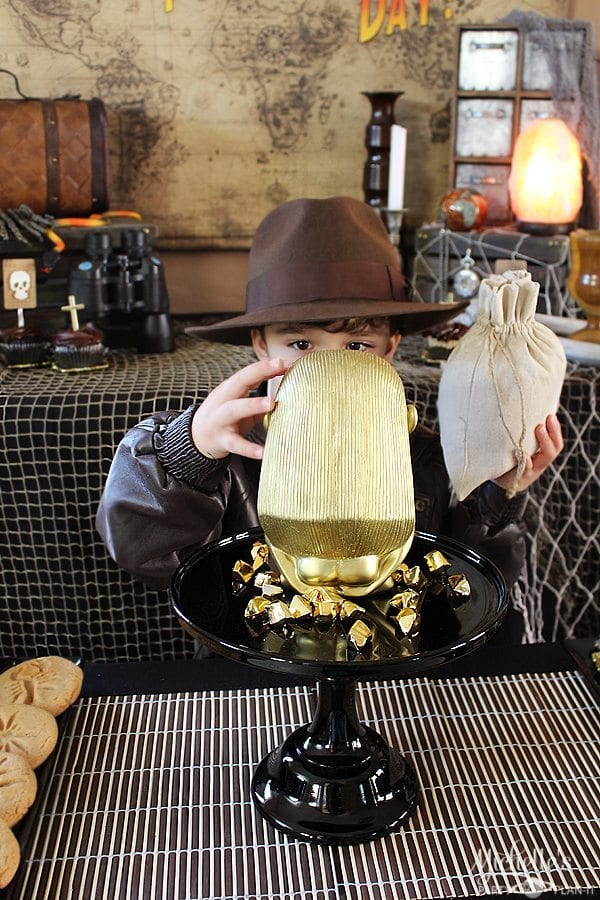 Indiana Jones Party Inspiration Fathers Day Party