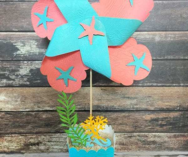 Under the Sea Pinwheel Tutorial | Sizzix Inspiration