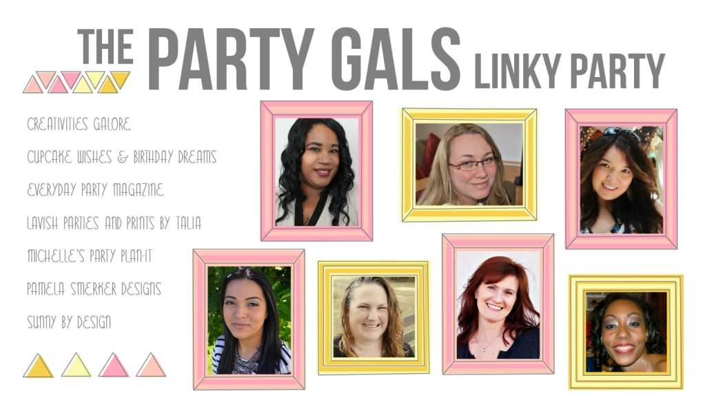 Summer Party Ideas and Recipes | Party Gals Linky Party #3
