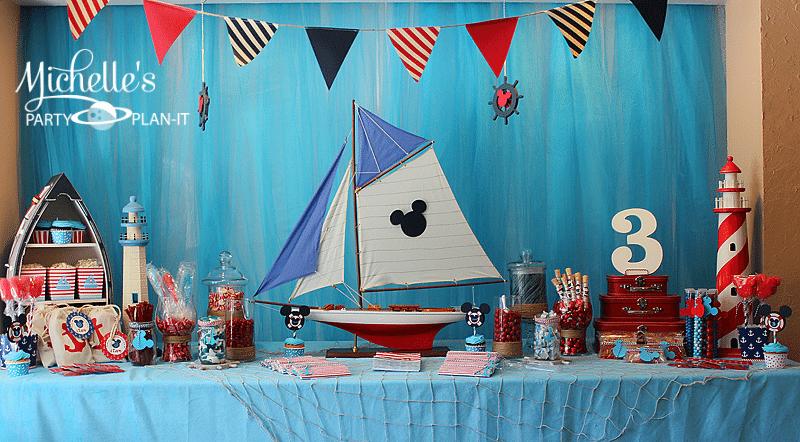 Nautical Mickey Party