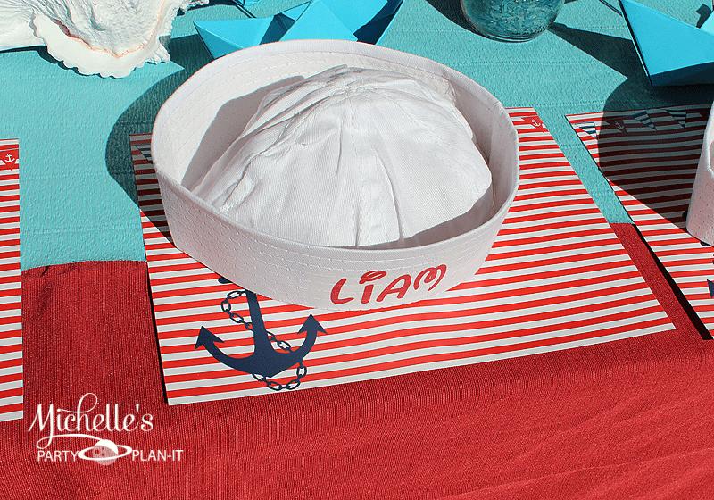 DIY Sailor Hats