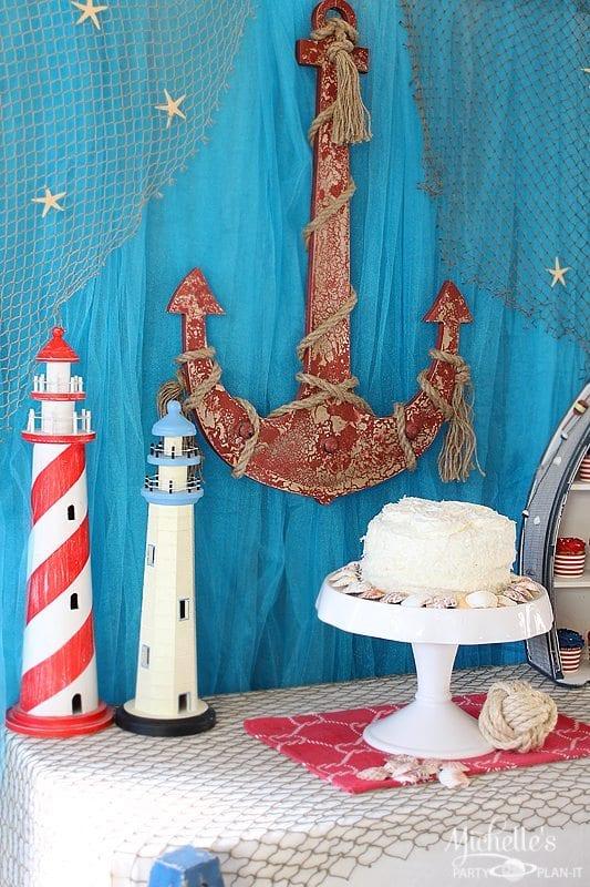 Birthday Party Ideas - Nautical