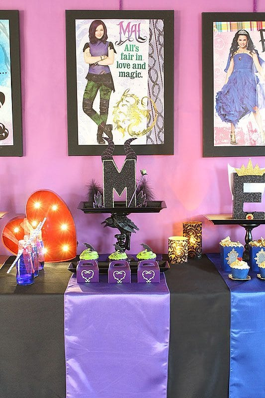 Disney Descendants Watch Party