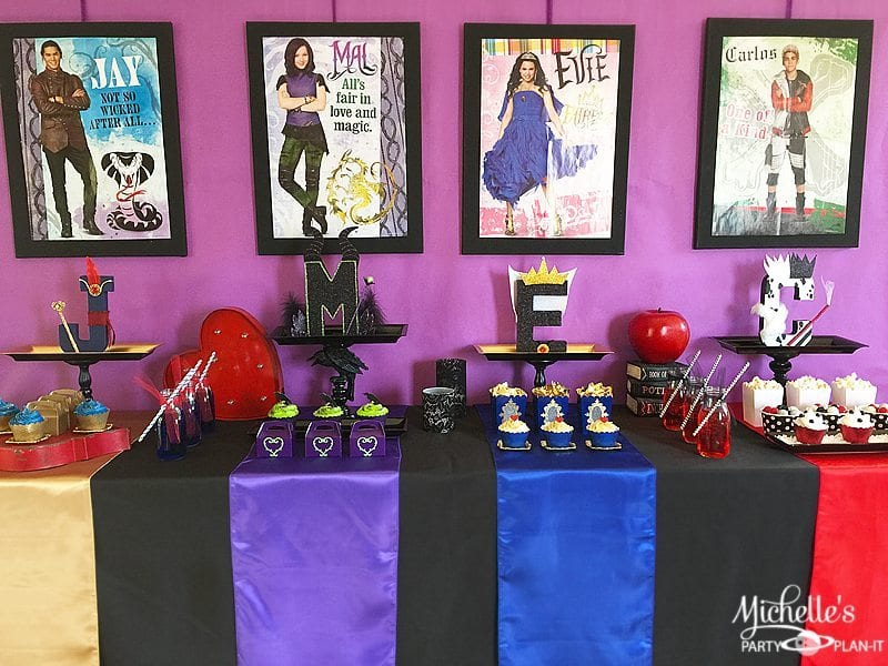 Descendants Backdrop Ideas