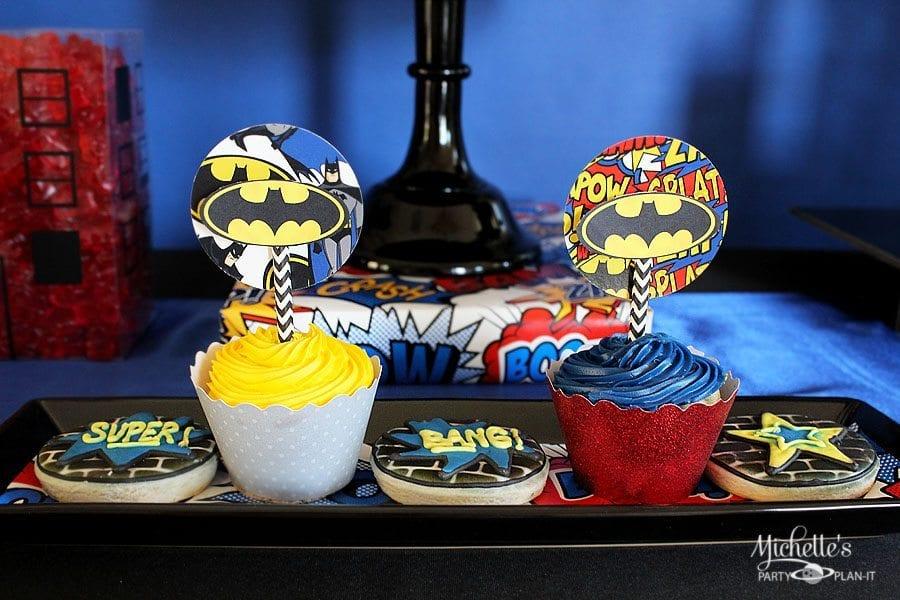 batman-cupcakes