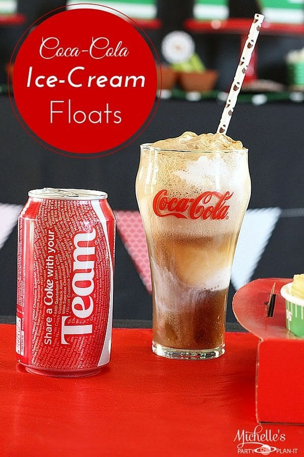 Coca-Cola Ice Cream Floats