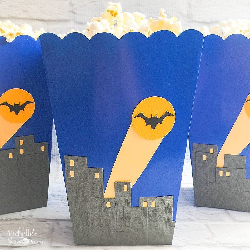 Super Hero Treat Boxes