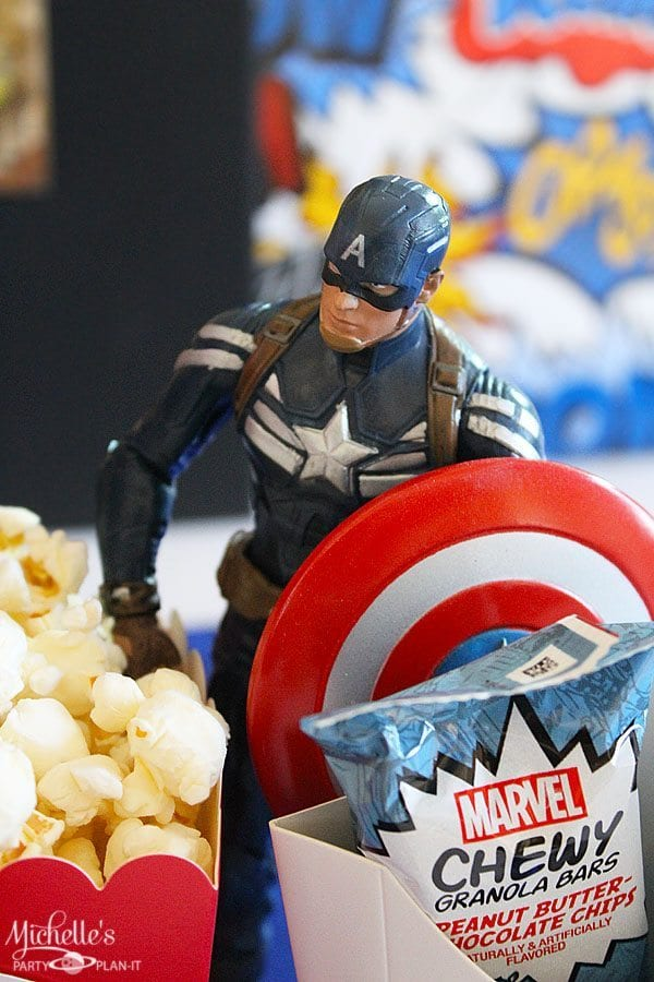 Avengers Playdate with Chewy Granola Bars