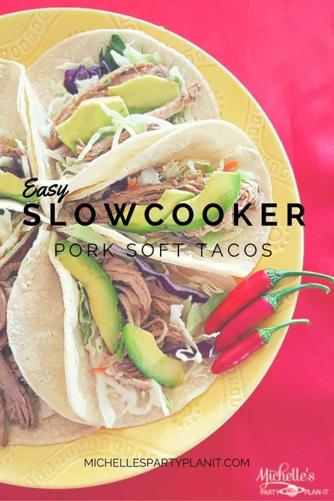 Easy Slow-Cooker Marinated Pork Soft Tacos | Dinner in a Cinch