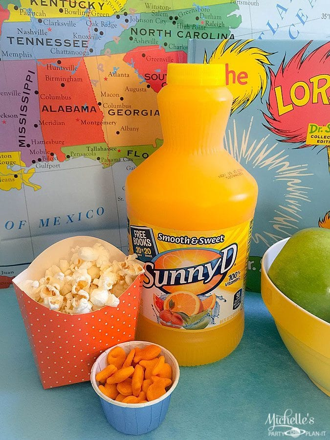 Snacks with SunnyD