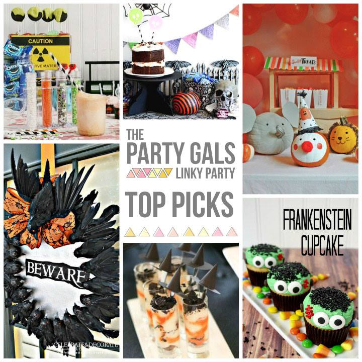 Halloween Party Ideas | Party Gals Linky Party #9