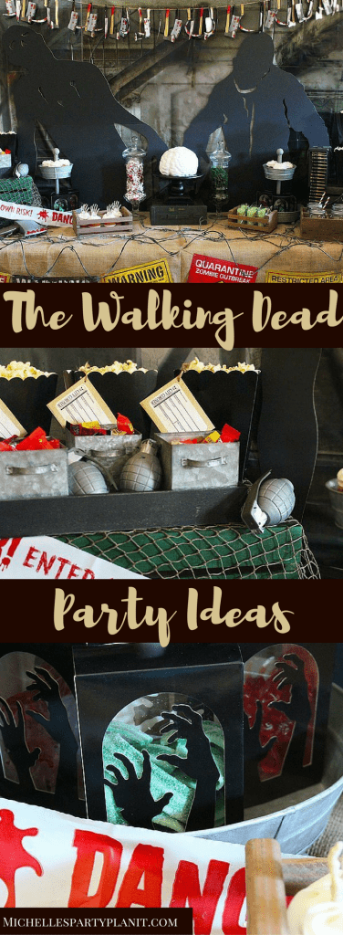 The Walking Dead Party Ideas