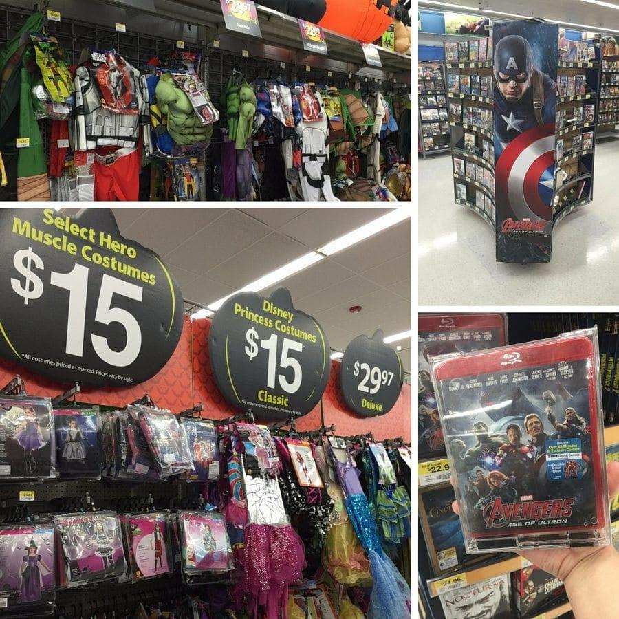 Avengers Costumes at WalMart