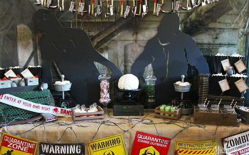 The Walking Dead Viewing Party | Zombie Party Ideas