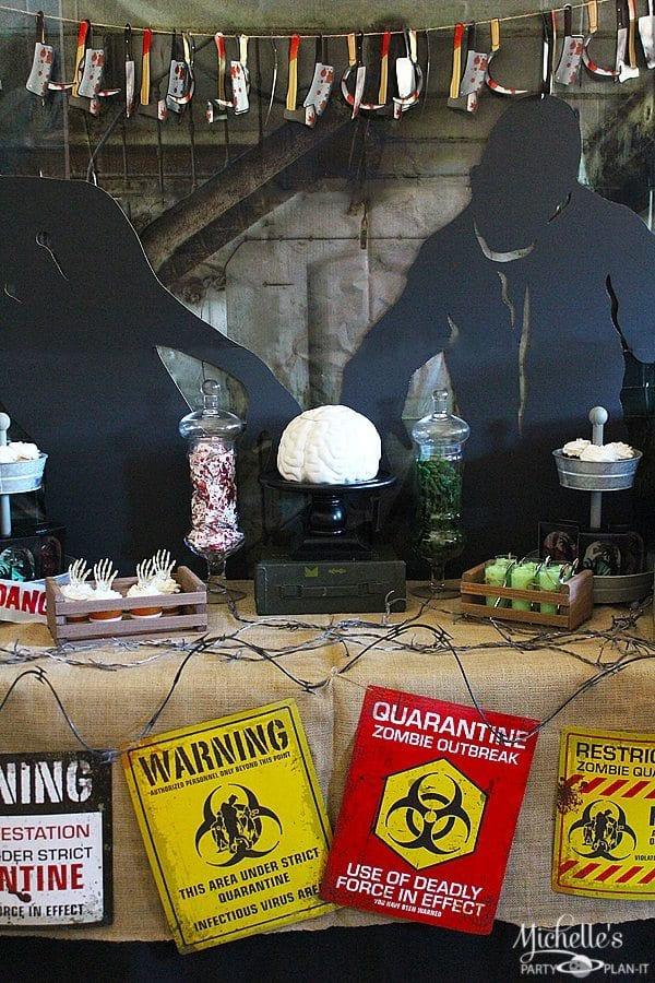 Zombie Party Ideas