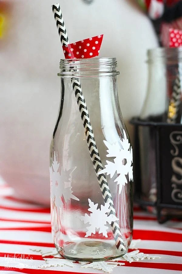 15 Minute Snowflake Glasses and Coasters | Craft Lightning Holiday Edition