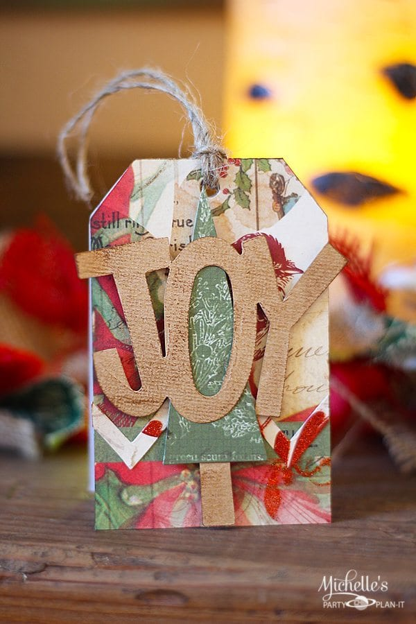 Sizzix Easy Christmas Gift Tag