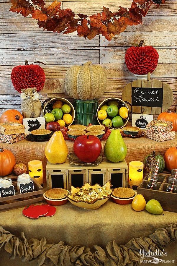Harvest Pie Party