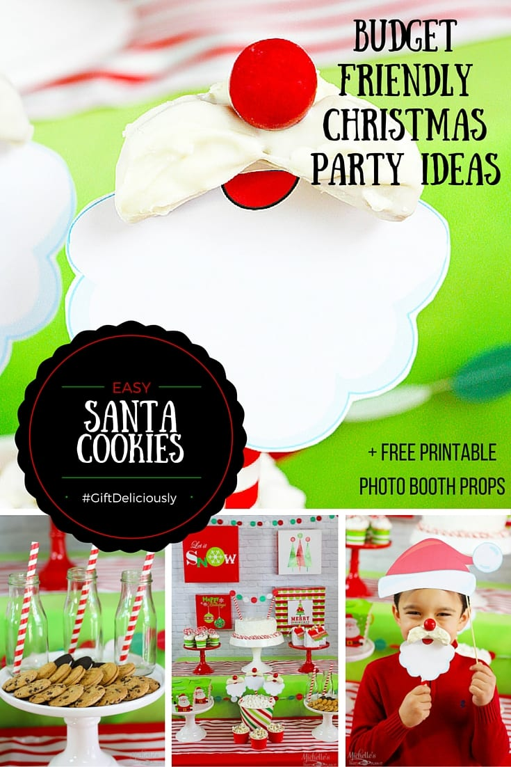 How to Plan a Christmas Party for Kids plus EASY Santa Cookies ...