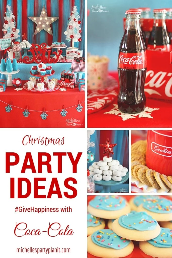 Give Happiness with Coca Cola | Christmas Party Ideas