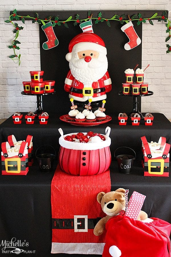 Santa Christmas Party Ideas