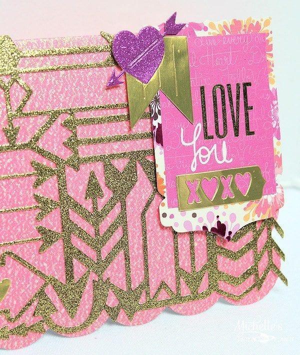 Arrow Valentine's Day Card