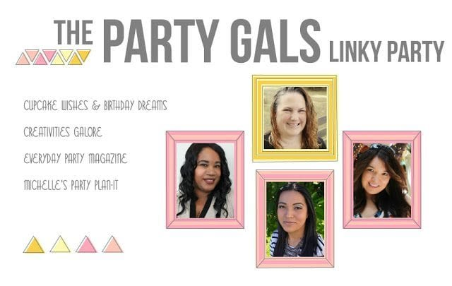 Party Gals Linky Party #15 | Mardi Gras and Valentine's Day Ideas