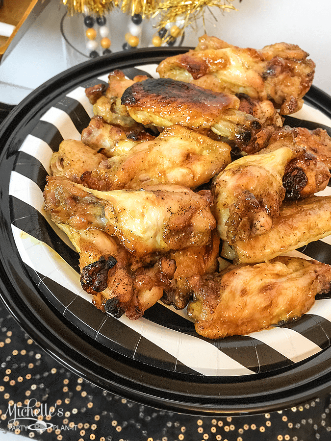 Rockin' Honey Curry Chicken Wings Recipe