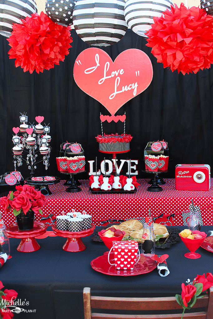 I Love Lucy Themed Party Idea Super Easy Decorations Including