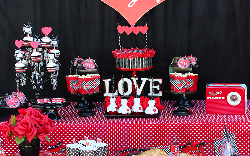 I Love Lucy Party   Galentine's Day