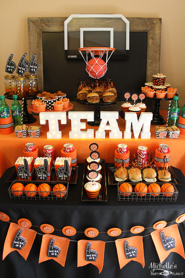 Basketball Party Ideas - Birthday Party Themes for Boys