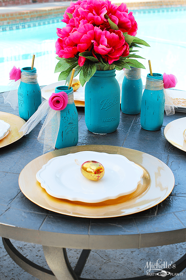 Easter Tablescape on a Budget
