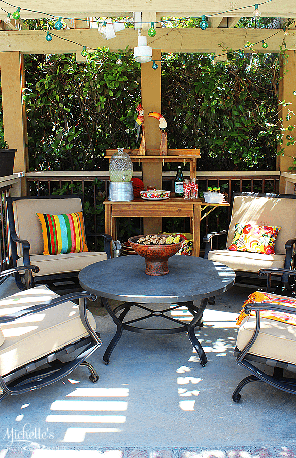 World Market Outdoor Party Space Refresh