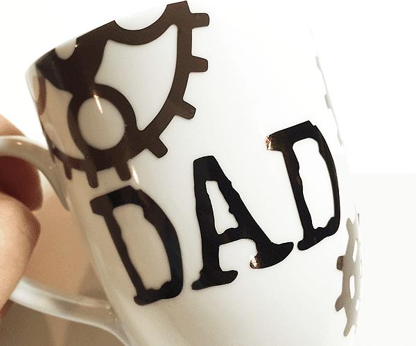 Steampunk Coffee Mug for Dad | 15 Minute Craft