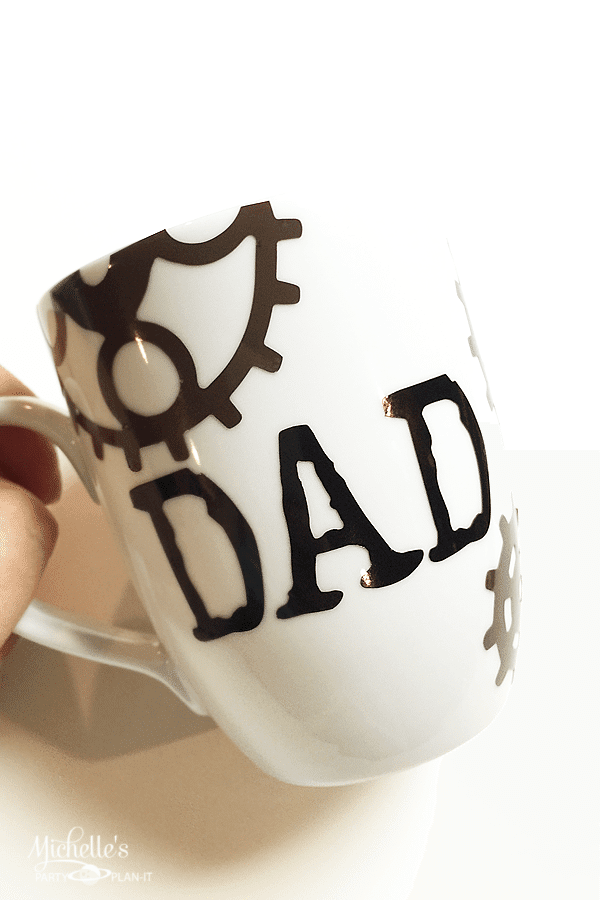 Steampunked Mug for Dad