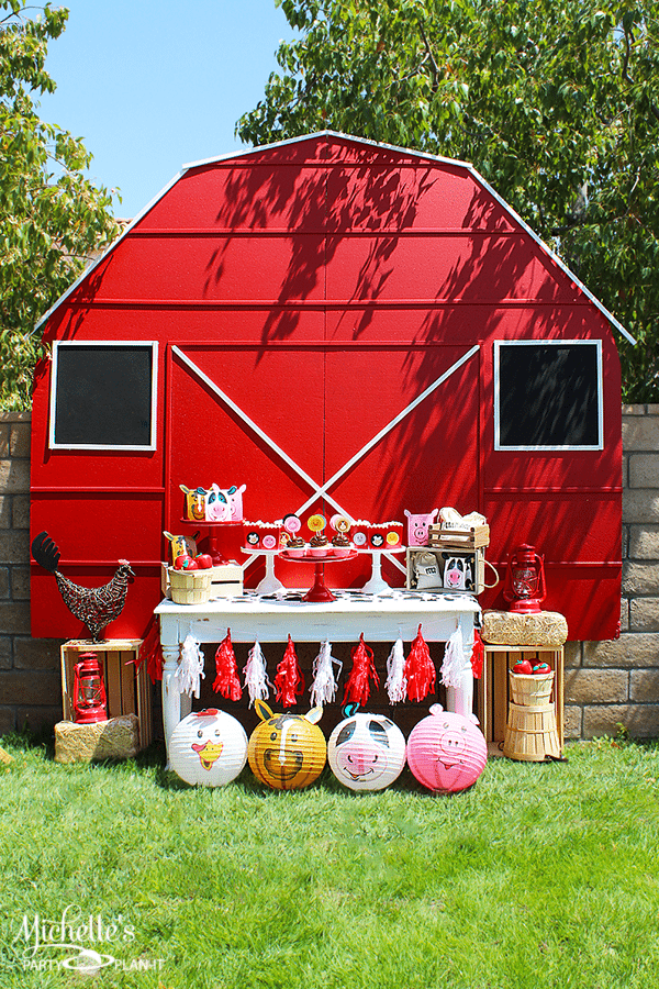 1st Birthday Party Ideas | Farm Party