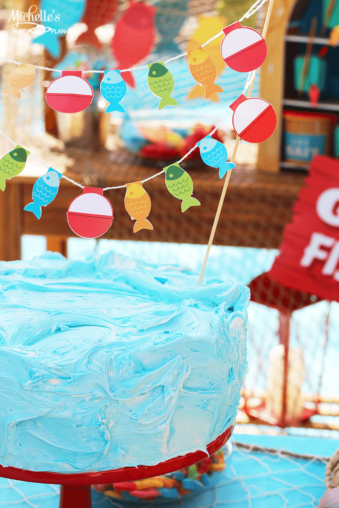 """Splish Splash"" Little Fisherman 1st Birthday Party Idea for Boys by Michelle Stewart"