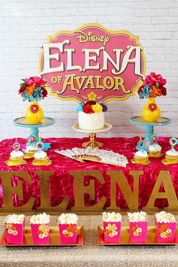 Princess Elena of Avalor Party Ideas #ElenaofAvalor