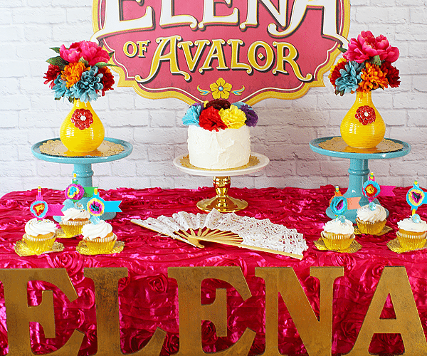 Elena of avalor party ideas 1