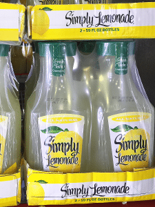 Simply Lemonade At Sam's Club
