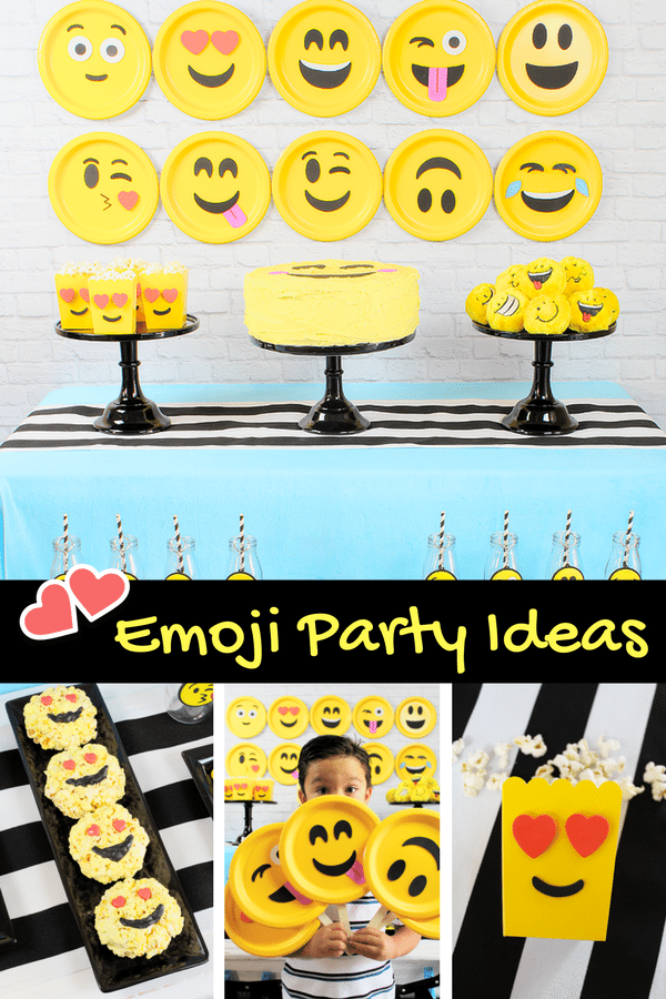 Emoji Party Ideas Michelles Party Plan It