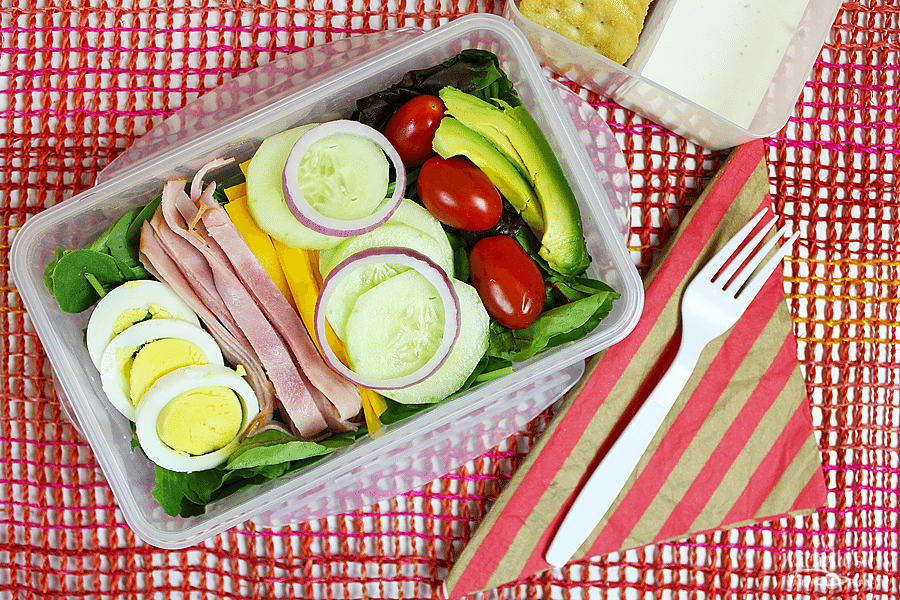Easy Salad - Easy Back To School Salads