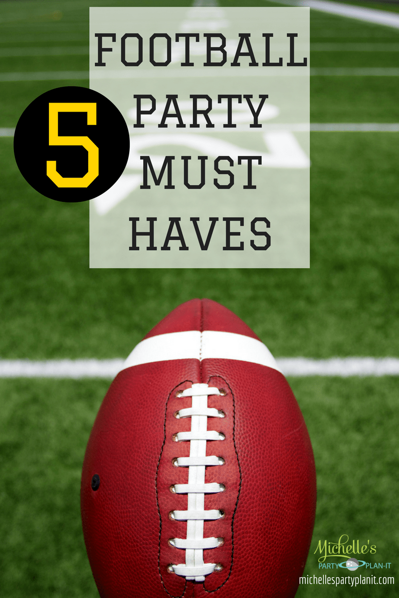 5 football must haves